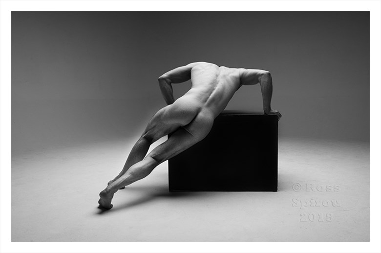 Tommy Artistic Nude Artwork by Photographer Ross Spirou