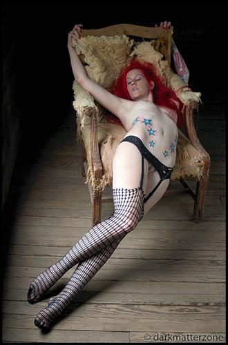 Tonja Artistic Nude Photo by Photographer Dark Matter Zone