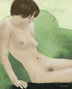 Torso Artistic Nude Artwork by Artist ianwh