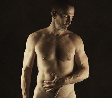 Torso Implied Nude Photo by Model Ben