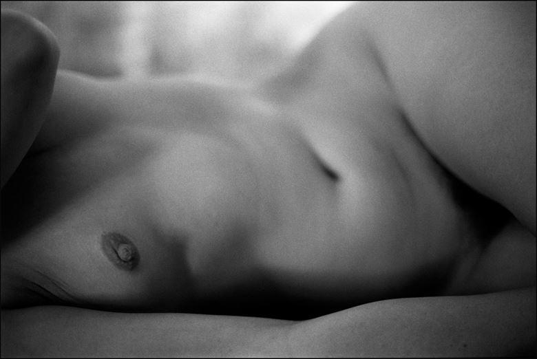 Torso at Rest Artistic Nude Photo by Photographer Ektar