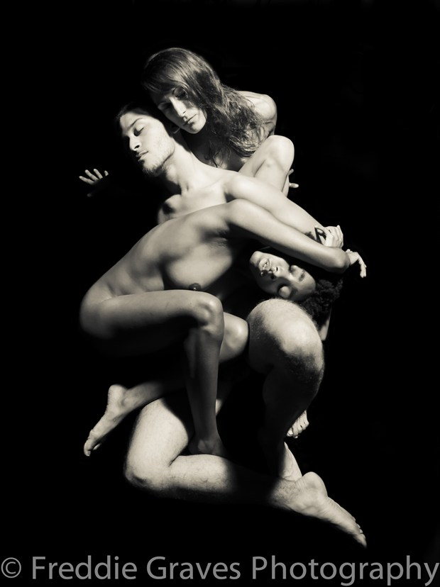 Totem Artistic Nude Photo by Artist Freddie Graves