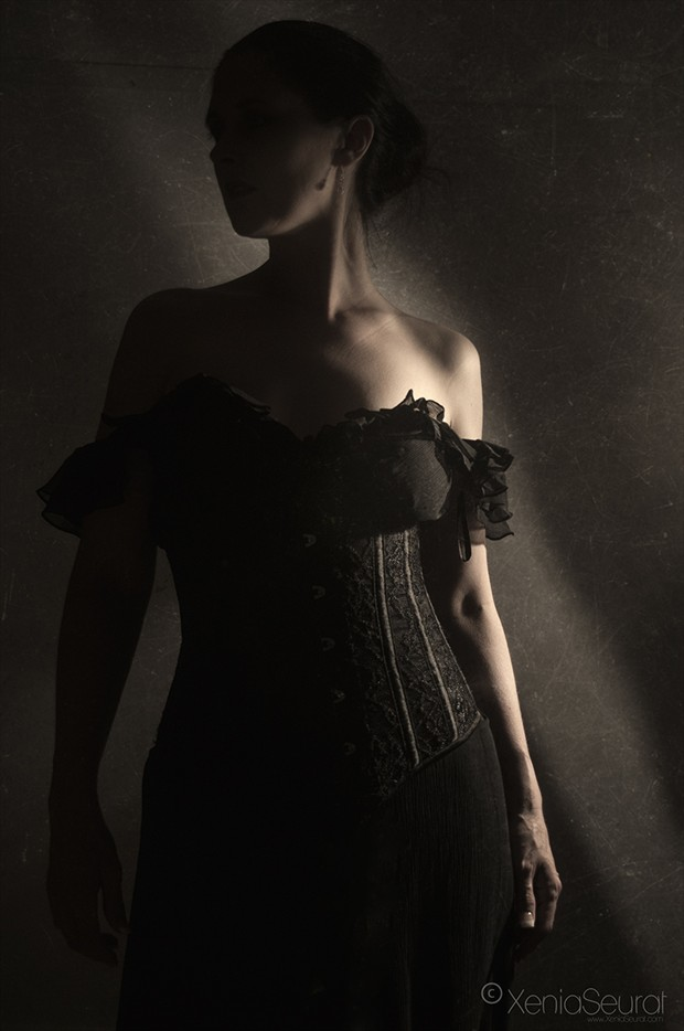 Touched by Light Sensual Photo by Photographer Xenia Seurat