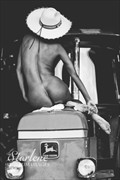 Tractor Nude Artistic Nude Photo by Model Tribbey