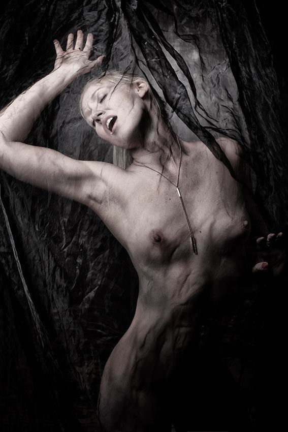 Trapped Artistic Nude Artwork by Model Deeza Lind