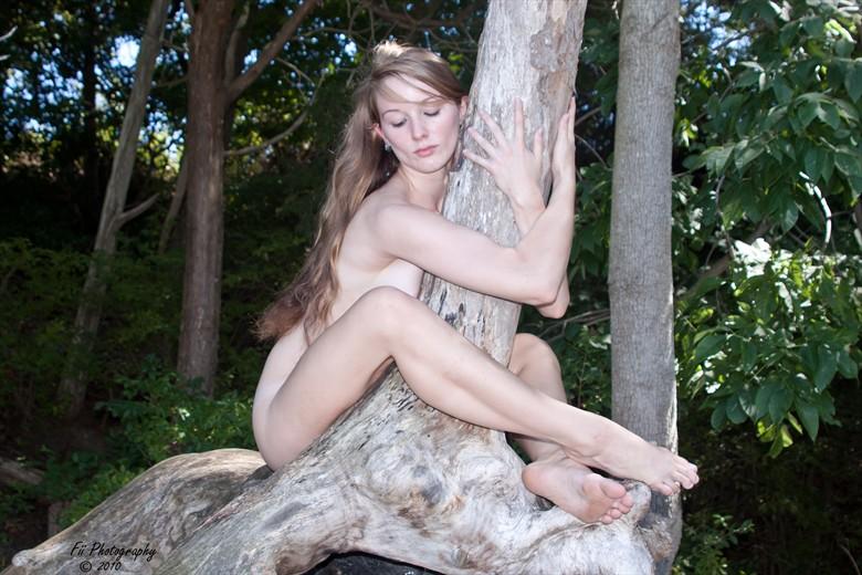 Tree hugger Artistic Nude Photo by Photographer FiiP