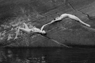 Triangular Study Artistic Nude Photo by Photographer Inge Johnsson