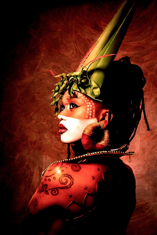 Tribal art Tattoos Artwork by Model Moniasse