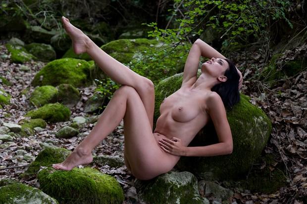 Trindlemoss Loch  Artistic Nude Artwork by Photographer Miguel Soler Roig