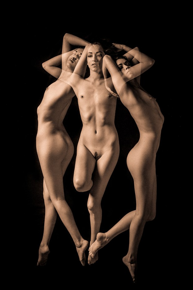 Triple %231 Artistic Nude Artwork by Photographer TedGlen