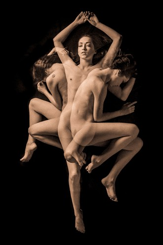 Triple %232 Artistic Nude Artwork by Photographer TedGlen