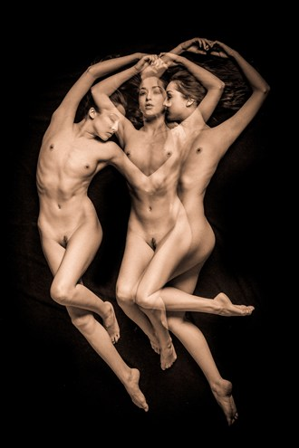 Triple %233 Artistic Nude Artwork by Photographer TedGlen