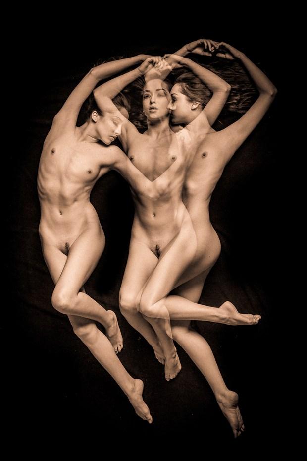 Triple %233 Artistic Nude Artwork by Photographer TedGlen