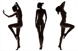 Triplet Artistic Nude Photo by Photographer Zartara Foto