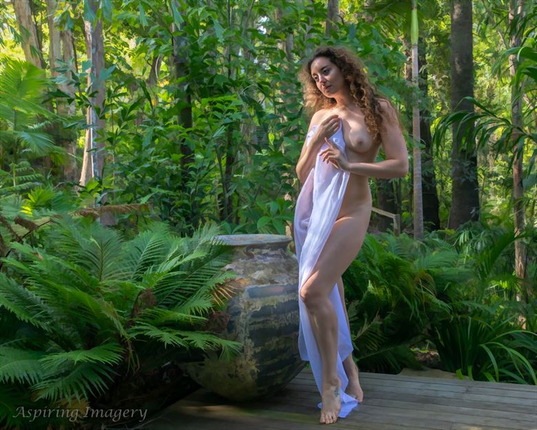 Tropical Garden Artistic Nude Photo by Photographer Aspiring Imagery