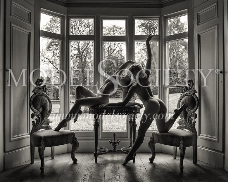 Two matching Chairs Artistic Nude Photo by Photographer Carl Grim