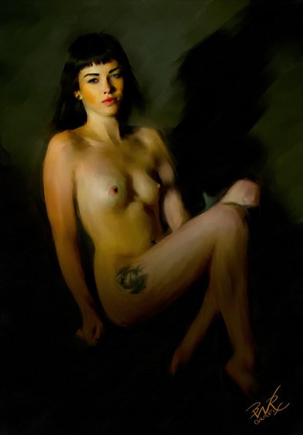 Tylah Riot Digital Artwork by Artist BWRgrafix