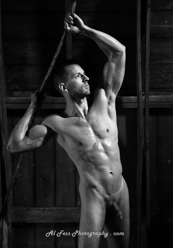 Tyler Artistic Nude Photo by Photographer Al Fess