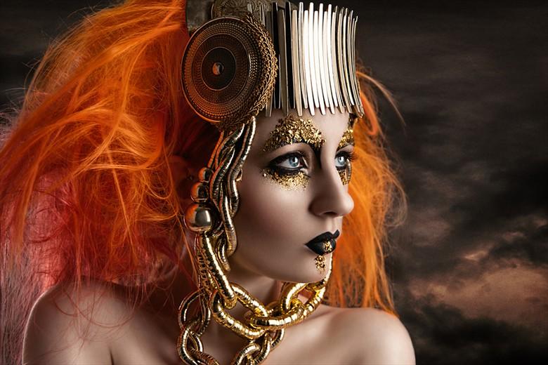 Ulorin Vex Alternative Model Photo by Photographer LowSociety