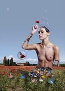 Una Fantastica Idea Artistic Nude Artwork by Artist Contesaia