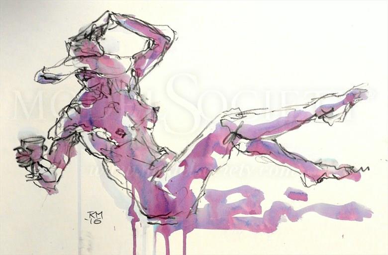 Unbalanced Diet Artistic Nude Artwork by Artist Rob MacGillivray