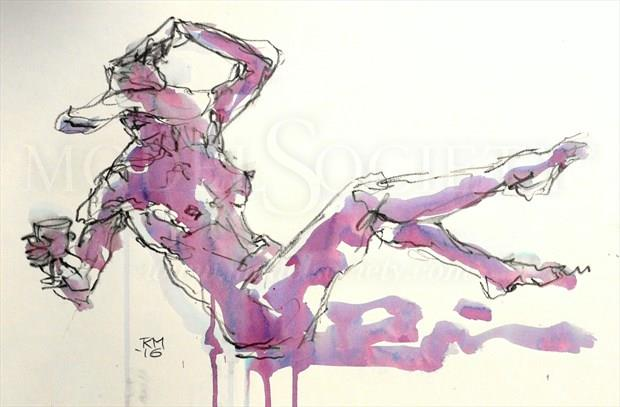 Unbalanced Diet Artistic Nude Artwork by Artist Rob MacGillivray