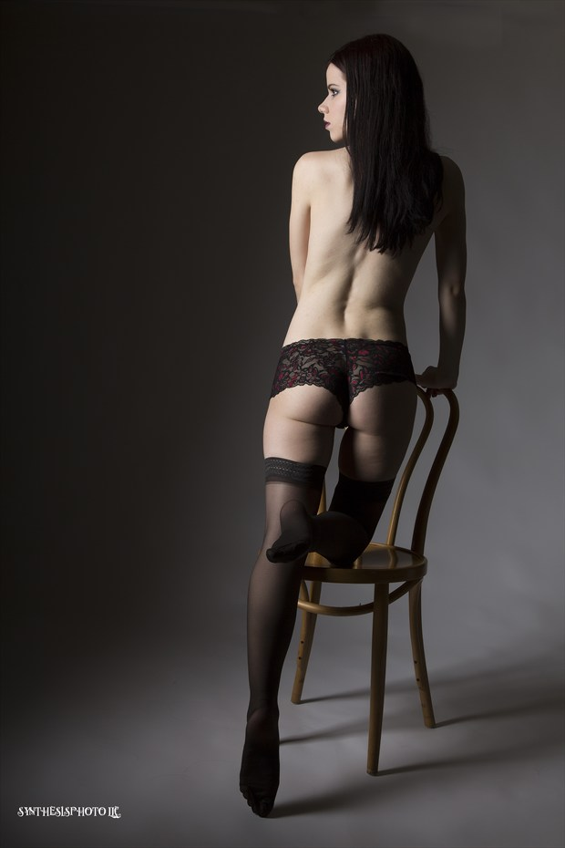 Uncertainty  Lingerie Photo by Model Sabryna Syndrome