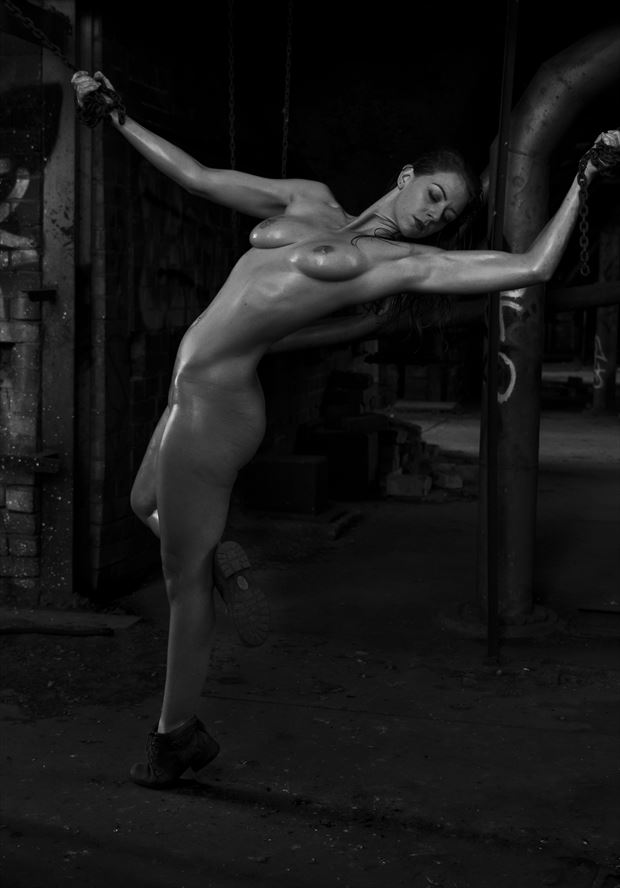 Unchained Artistic Nude Photo by Model Alice Unleashed