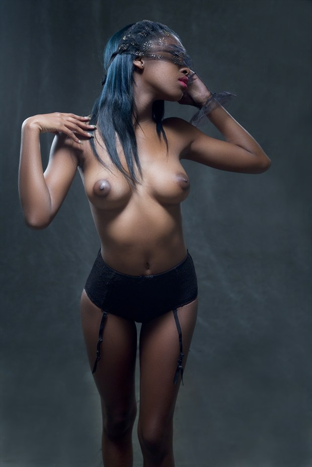 Under The Veil Artistic Nude Photo by Photographer Dexellery Photo