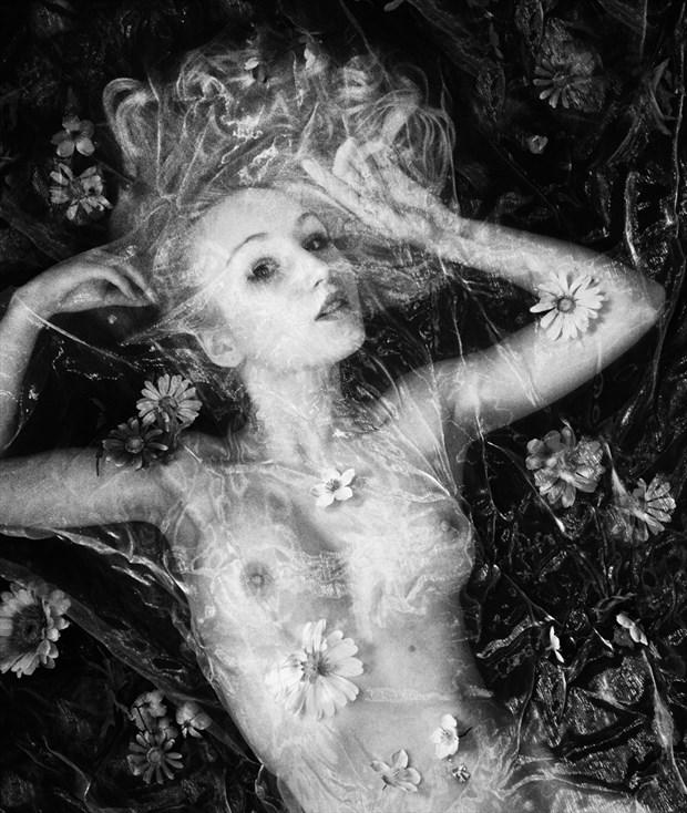 Under organza Artistic Nude Photo by Photographer RayRapkerg