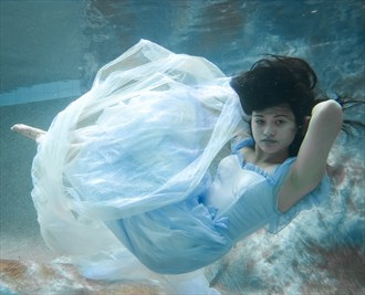 Under the water Fantasy Artwork by Photographer TedGlen