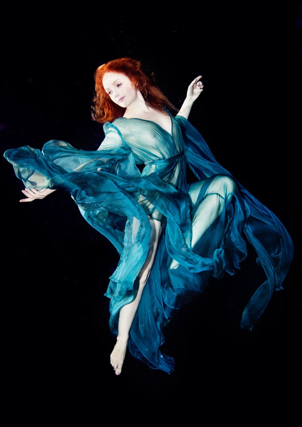 Underwater  Surreal Photo by Model Ivory Flame