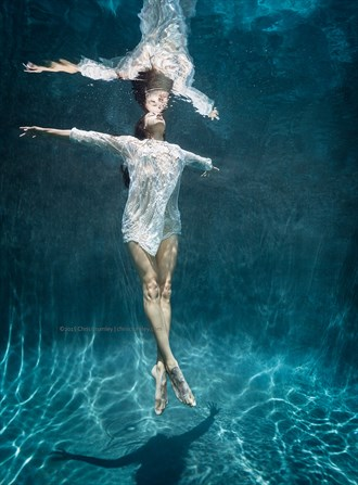 Underwater Dance Lingerie Photo by Photographer anguschristopher
