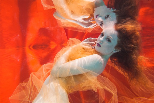 Underwater Dreaming IX Surreal Photo by Photographer Christopher Meredith