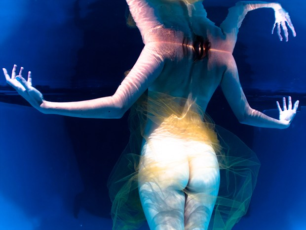 Underwater Dreaming XX11 Surreal Photo by Photographer Christopher Meredith