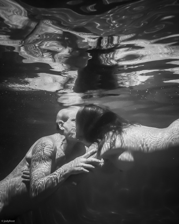 Underwater Kiss Tattoos Photo by Photographer jody frost