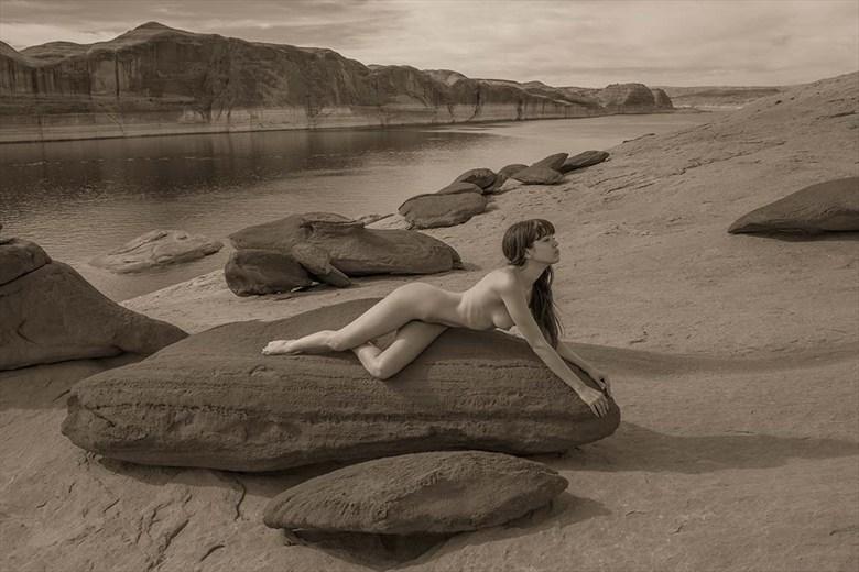 Lake Powell Naked