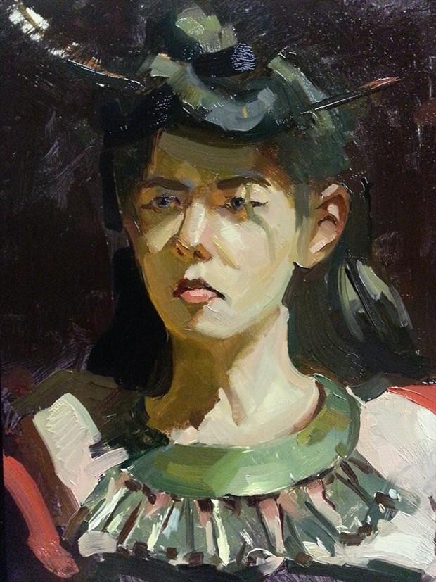 Untitled  Portrait Artwork by Artist ShunXie