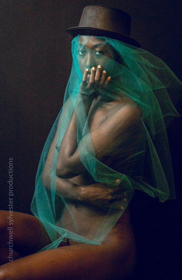 Unveiled Artistic Nude Artwork by Model Nyasia Sylvester
