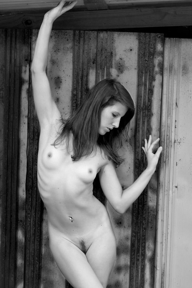 Up Against The Wall Artistic Nude Photo by Photographer Brady