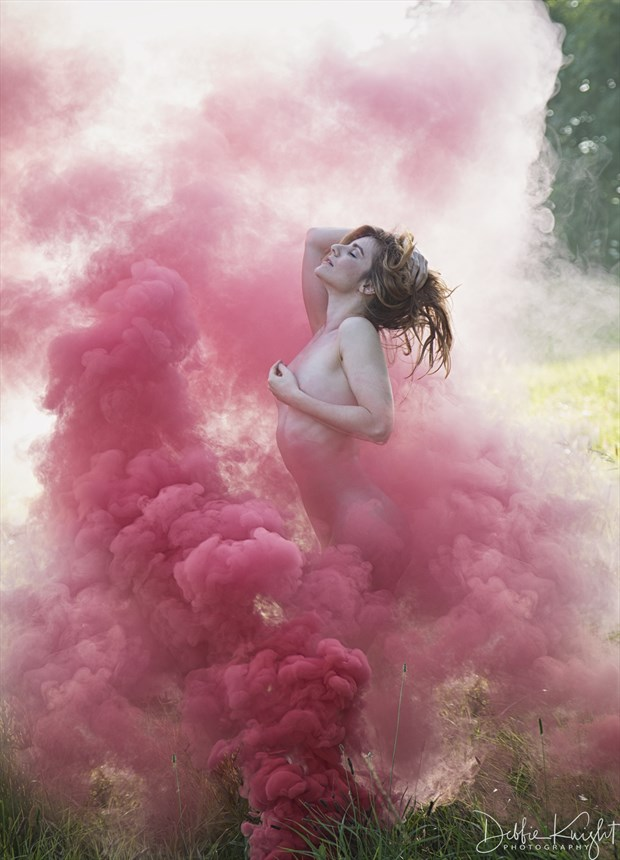 Up In Smoke Artistic Nude Photo by Photographer DKnight