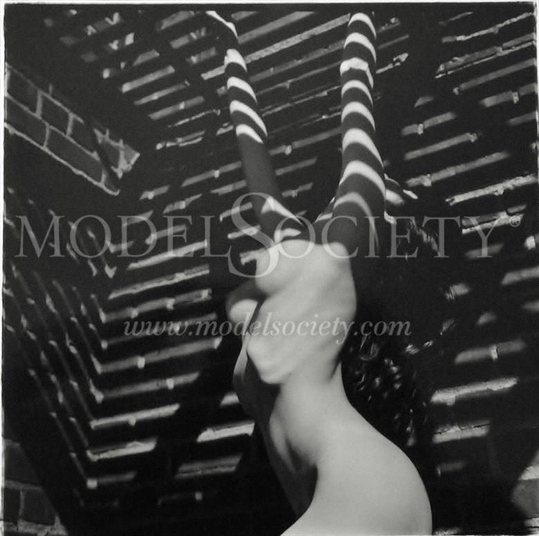 Urban Limbo Artistic Nude Artwork by Photographer Robert Lee Bernard