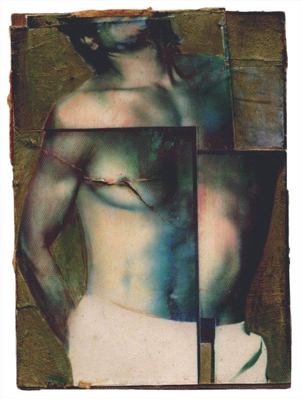 Uttilio as Saint Sebastian Artistic Nude Artwork by Artist fjgomez