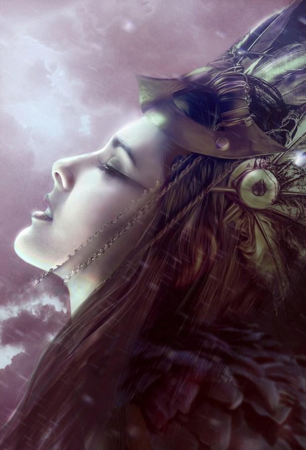 Valkyrie Fantasy Artwork by Artist phatpuppyart