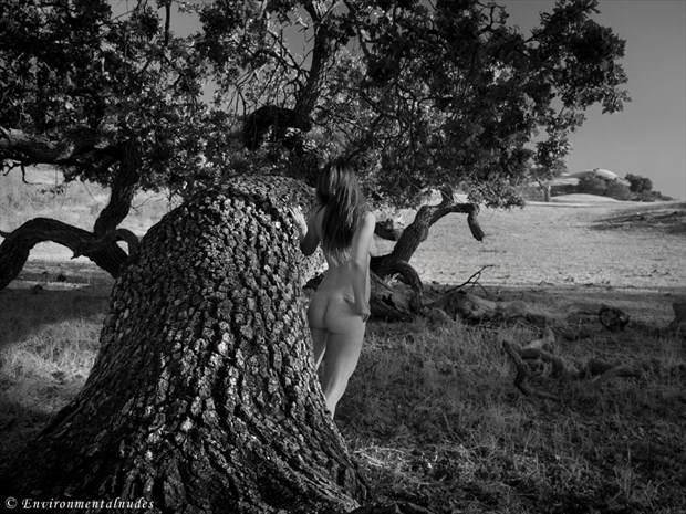 Valley Oak and Nude Artistic Nude Photo by Photographer Environmentalnudes