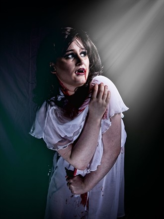 Vampyre in the light Studio Lighting Photo by Photographer Les Auld