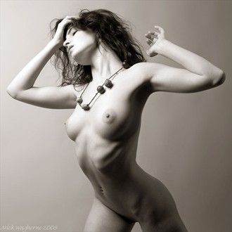Variations on a Necklace Artistic Nude Photo by Photographer Mick Waghorne