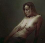 Vassanta Artistic Nude Artwork by Artist Van Evan Fuller