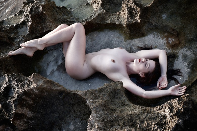 Vaunt amongst the lava formations Artistic Nude Photo by Photographer StromePhoto