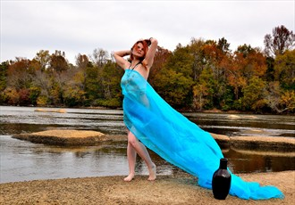 Venus river goddess Cosplay Photo by Photographer John Miles
